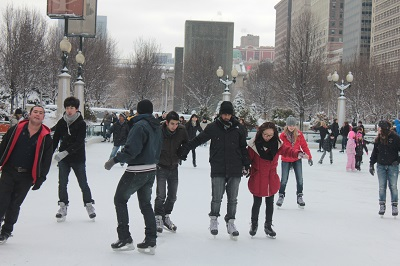 uic students skating