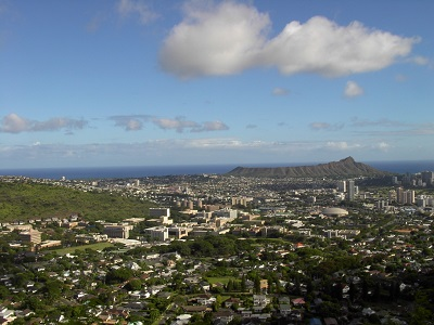 View of UHM Diamond Head