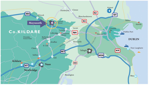 maynooth university map