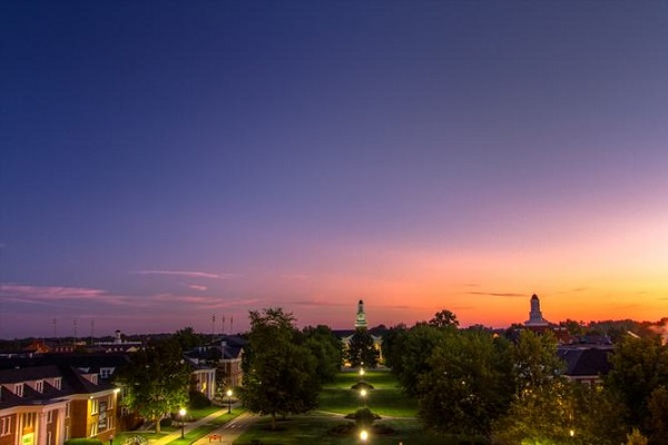 tennessee tech at dusk