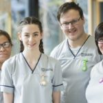 Stirling nursing students